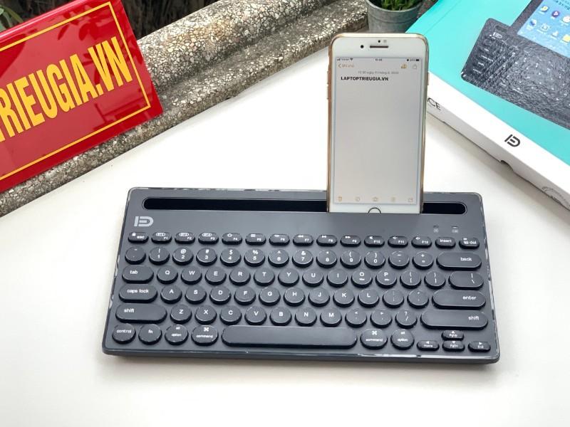 Bàn phím Bluetooth IK3381 - Đen