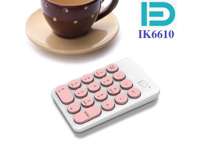 Bàn phím số không dây - Forter IK6610